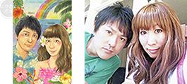 似顔絵/ウェルカムボード制作実績4
